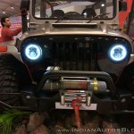 Mahindra Thar Daybreak edition front close view at Autocar Performance Show 2017