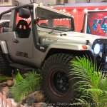 Mahindra Thar Daybreak edition front three quarters right side at Autocar Performance Show 2017