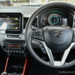 Maruti Ignis driver area First Drive Review