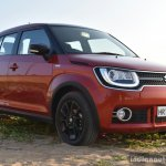 Maruti Ignis front quarter low First Drive Review