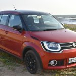 Maruti Ignis front quarter right First Drive Review