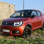 Maruti Ignis front three quarter featured First Drive Review