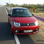 Maruti Ignis on road First Drive Review
