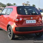Maruti Ignis rear three quarter dynamic First Drive Review