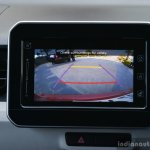 Maruti Ignis reverse cam First Drive Review