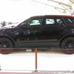 Range Rover Evoque profile at Autocar Performance Show 2017