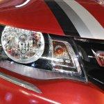 Renault Kwid (accessorised) headlamp at Surat International Auto Expo 2017