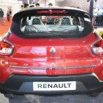 Renault Kwid (accessorised) rear at Surat International Auto Expo 2017