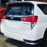 Toyota Innova Venturer rear white