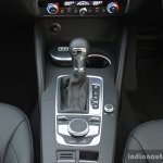 2017 Audi A3 sedan (facelift) floor console First Drive Review