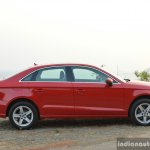 2017 Audi A3 sedan (facelift) side First Drive Review