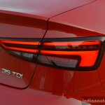 2017 Audi A3 sedan (facelift) taillamp on First Drive Review