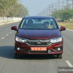 2017 Honda City ZX (facelift) front First Drive Review