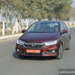 2017 Honda City ZX (facelift) rear quarter First Drive Review