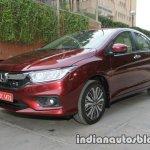 2017 Honda City (facelift) front three quarters high-res