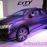 2017 Honda City (facelift) front three quarters left side