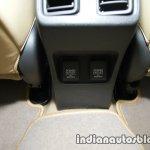 2017 Honda City (facelift) rear charging ports high-res