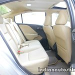 2017 Honda City (facelift) rear seats high-res