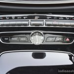 2017 Mercedes E Class (LWB) center console First Drive Review
