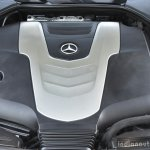2017 Mercedes E Class (LWB) engine cover First Drive Review