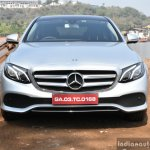 2017 Mercedes E Class (LWB) front First Drive Review