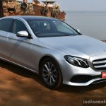 2017 Mercedes E Class (LWB) front quarter right First Drive Review