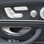 2017 Mercedes E Class (LWB) rear seat controls First Drive Review