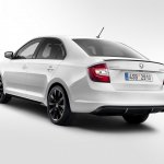 2017 Skoda Rapid (facelift) rear three quarters
