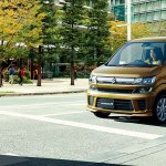 2017 Suzuki Wagon R front three quarters left side