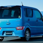 2017 Suzuki Wagon R rear three quarters right side