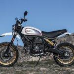 Ducati Scrambler Desert Sled side