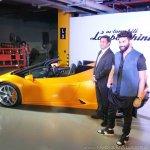 Lamborghini Huracan RWD Spyder India launch