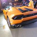 Lamborghini Huracan RWD Spyder rear three quarters left side