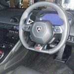 Lamborghini Huracan RWD Spyder steering wheel
