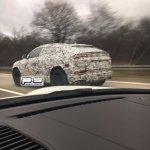 Lamborghini Urus rear three quarters spy shot