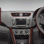 Maruti Ertiga Limited Edition interior dashboard