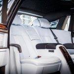 Rolls-Royce Phantom final unit rear seats
