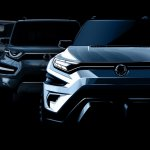SsangYong XAVL concept front rendering
