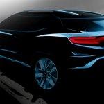 SsangYong XAVL concept rear three quarters rendering