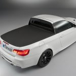2011 BMW M3 pickup truck rear three quarters