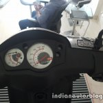 2017 Aprilia SR 150 BSIV at dealership instrumentation
