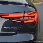 2017 Audi A4 35 TDI badge First Drive Review