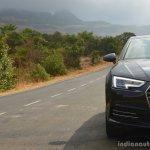 2017 Audi A4 35 TDI grille bumper headlamp First Drive Review