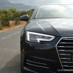 2017 Audi A4 35 TDI headlamp First Drive Review