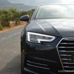 2017 Audi A4 35 TDI headlamp First Drive Review