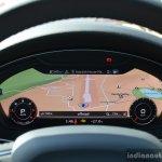 2017 Audi A4 35 TDI navigation map First Drive Review