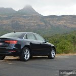 2017 Audi A4 35 TDI rear quarter far First Drive Review