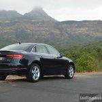2017 Audi A4 35 TDI rear quarter far First Drive Review