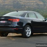2017 Audi A4 35 TDI rear three quarter close First Drive Review