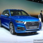 2017 Audi SQ5 front quarter at the Geneva Motor Show